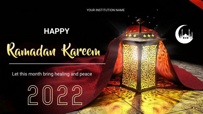 ramadan flyers 数字显示屏 (16:9) template