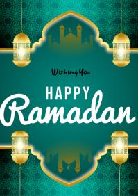 Ramadan flyers A3 template