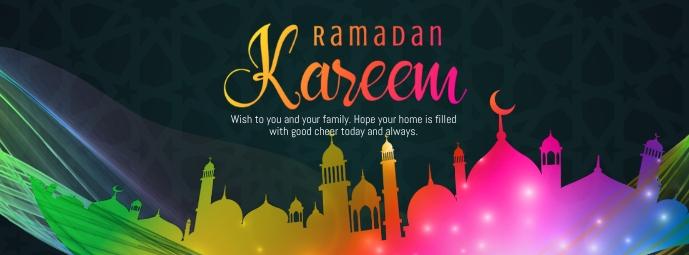 Ramadan Greeting Facebook Omslag Foto template