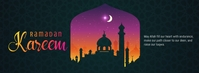 Ramadan Greeting Foto Sampul Facebook template