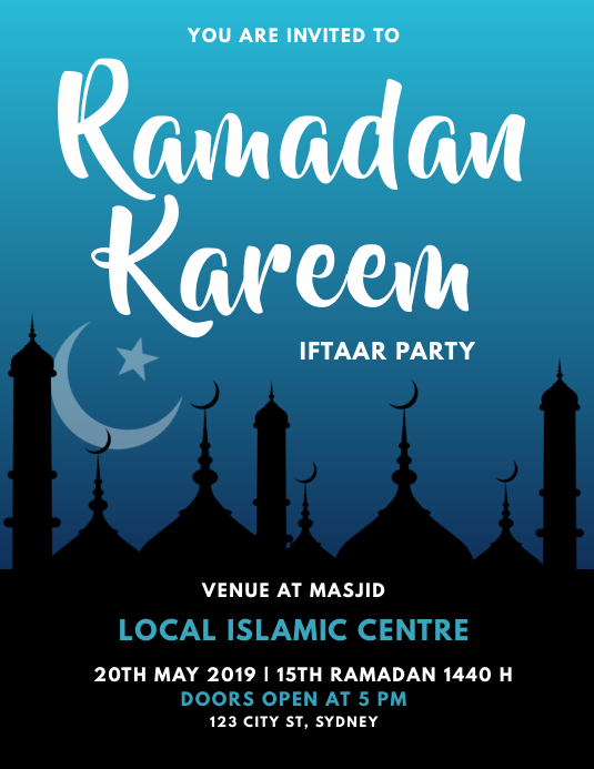 RAMADAN IFTAAR PARTY INVITATION