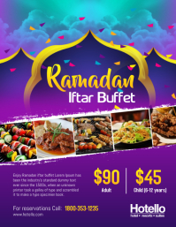 Ramadan Iftar Buffet Dinner Flyer
