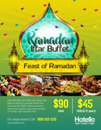 Ramadan Iftar Buffet Dinner Flyer Template