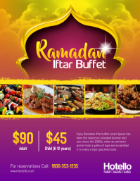 Ramadan Iftar Buffet Dinner Flyer Template