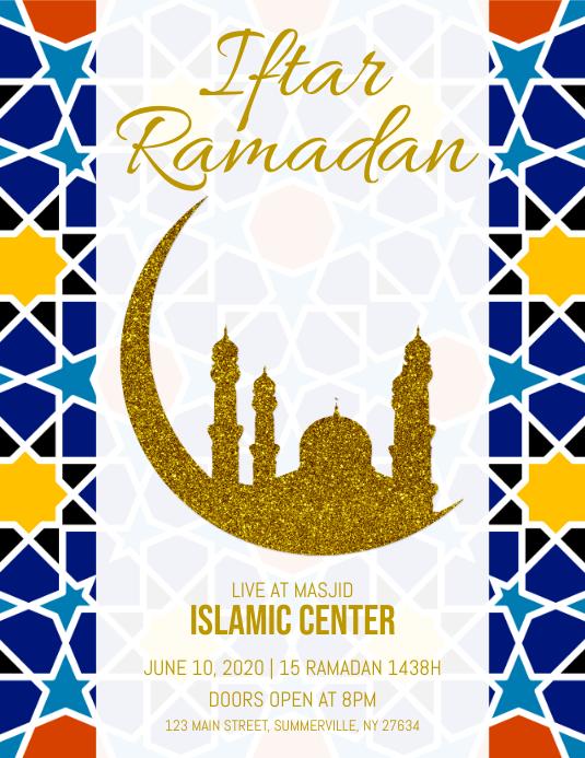 Ramadan Iftar Party Flyer