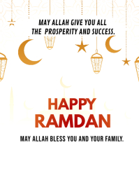 Ramadan Iftar Party Invitation Template