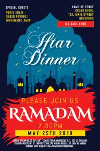 Ramadan Iftar Poster Template