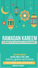Ramadan Instagram story template