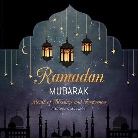 Ramadan Instagram templates Instagram-bericht