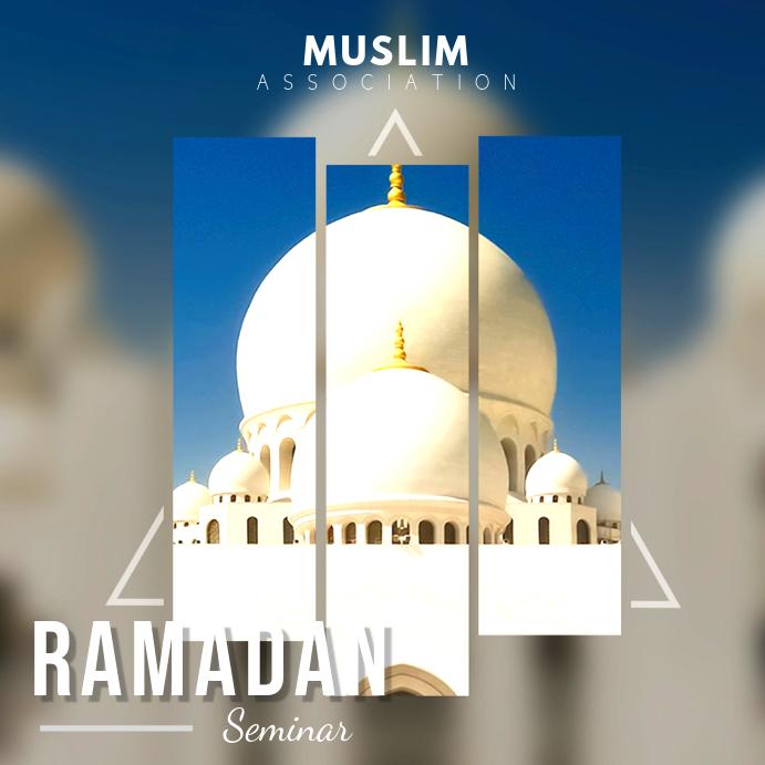 Ramadan Invitation Instagram Post Template