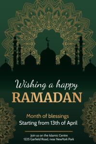 ramadan kareem, eid, ramadan, iftar 海报 template