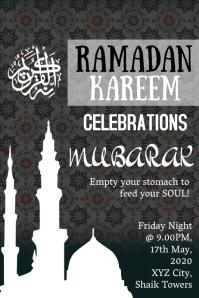 Ramadan kareem/ Ramzan template