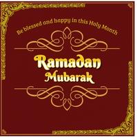 Ramadan mubarak , islamic event Logo template