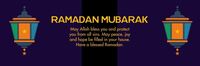 Ramadan Mubarak E-poskop template