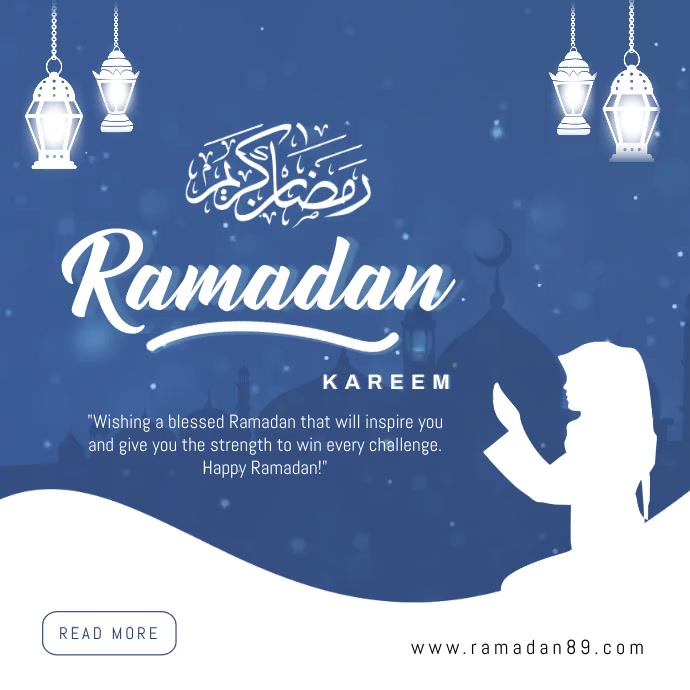 Ramadan mubarak instagram post Wpis na Instagrama template