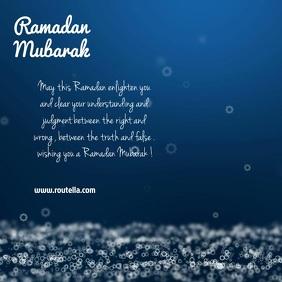ramadan mubarak kareem video post