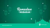 Ramadan Mubarak Post template