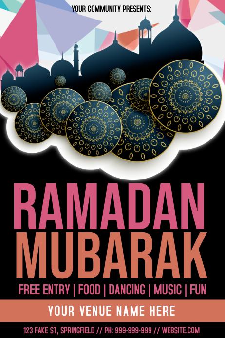 Ramadan Mubarak Poster