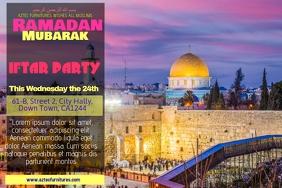 Ramadan Mubarak Poster Template