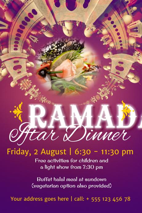 copy of ramadan poster template