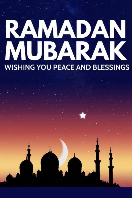 Ramadan Poster Template Póster