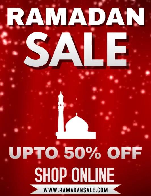 Ramadan Sale Flyer Template Volantino (US Letter)