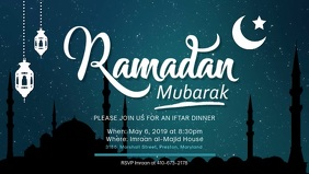 Ramadan Seminar Event Invitation Template