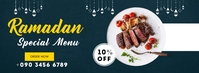 RAMADAN SPECIAL MENU Facebook Cover Photo template