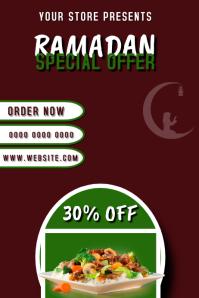 Ramadan Special Offer Banner Template Transparent 4 stopy × 6 stóp