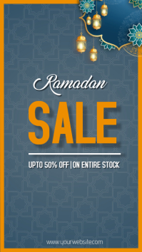 Ramadan template Instagram Story