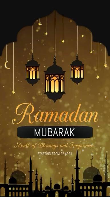 Ramadan templates Instagram Story