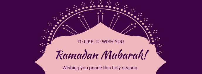 Ramadan Wish Facebook Cover Template