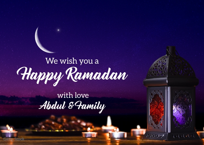 Ramadan wishes Template | PosterMyWall