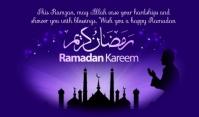 Ramzan Etiqueta template