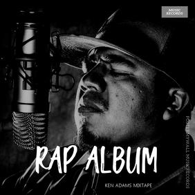 Rap Album Cover Template Capa de álbum