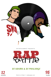 60 customizable design templates for rap postermywall