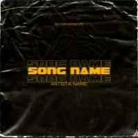 RAP CD Album / Mixtape Cover Design Template