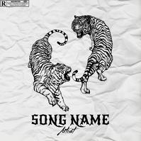 RAP CD Album/Mixtape Cover Design Template