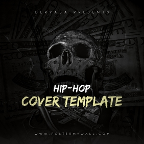 Rap Hip-Hop CD Cover Template