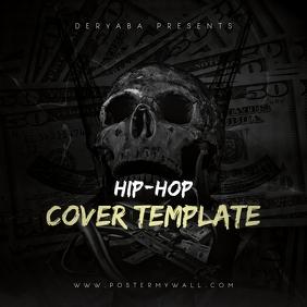 Rap Hip-Hop CD Cover Template