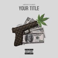 Rap Hip-Hop Cover - LV Style