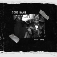 rap hip hop mixtape cover art design template Albumcover