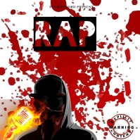 rap Mixtape/Album Cover Art template
