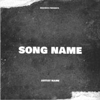 rap mixtape cover art design template Okładka albumu