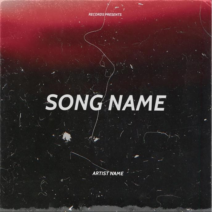 rap mixtape cover art design template Albumcover