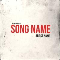 rap mixtape cover art design template