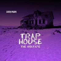 Rap Trap House Smoke Video Mixtape CD Cover Quadrado (1:1) template