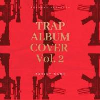 Rap Trap Mixtape Cover Video Template