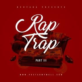 Rap Trap Part 3 Mixtape Cover Art Template
