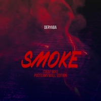 Rap Trap Smoke Video Mixtape Cover Template Persegi (1:1)
